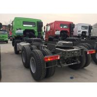 Quality Dropside Cargo Truck Chassis SINOTRUK HOWO ZZ1257N4341W Green Lorry Vehicle for sale