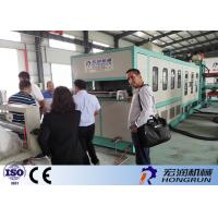 China Biodegradable Plastic Food Container Making Machine Water Air Cooling Method on sale