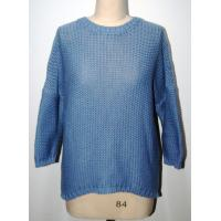 Wholesale Comfortable Womens Navy Blue Sweater Half Dropped Sleeve BGAX16263 from china suppliers