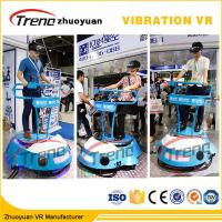 Wholesale Amusement Park Cars Driving 9D Cinema Simulator With Interactive Vive Equipment from china suppliers