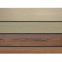 Wholesale Wood Grain Fiber Exterior Cement Board Siding , Cement Fiberboard Panels from china suppliers