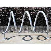 Wholesale Sturdy Bicycle Display Stand , Metal Gravity Bike Parting Rack from china suppliers