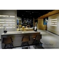 Wholesale Optic eyeglass shop in grand design by natural oak wood display counters and Industrial wind weathering wooden cabinet from china suppliers
