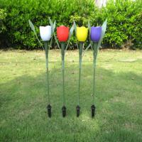 Wholesale solar tulip flower light from china suppliers