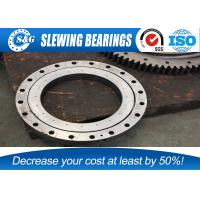 Wholesale Four Points Contact Rotary Table Bearing /  Slim Section Bearings For Military Products from china suppliers