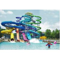 Wholesale Adult Fiberglass Spiral Water Slide Closed Tube Extreme Water Slides from china suppliers