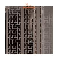 Wholesale Decorative Solid Wood Lattice Panel For Hotel Guest Room 2 Years Gurantee from china suppliers
