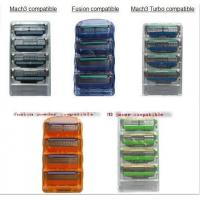 Wholesale Razor refills, razor cartridges, razor head fit with gillette mach 3, fusion from china suppliers
