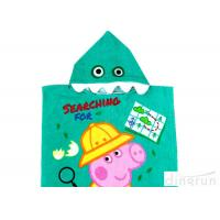 Wholesale Customized Childrens Towelling Ponchos , Babies Swimming Towels With Hoods 400gsm from china suppliers