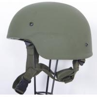 China Green Kevlar Mich 2000  bullet proof helmet with NIJ IIIA level for Military Police on sale
