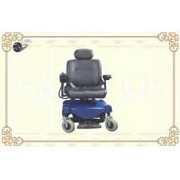 Wholesale Intelligent Drive Electrical Hub Motor Wheelchair with Luxury Leather Seats and Backrest from china suppliers