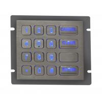 Wholesale Backlight Metal Keypad With Ps / 2 Interface , Rear Panel Mounting from china suppliers