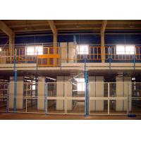 Wholesale ISO Certificated Rack Supported Mezzanine / Free Standing Mezzanine For High Ceiling Warehouse from china suppliers