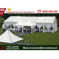 Wholesale Clear Span Wide Outdoor Event Tent Aluminum Frame With Sandwich Panel Walls from china suppliers