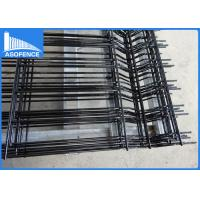 Wholesale Powder Coated Balck 3D Panel Fence Bending Wire Mesh Security For Garden from china suppliers
