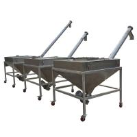 Wholesale Stainless Steel Inclined Screw Feeder Adjustable Speed Auger Feeding Machine from china suppliers