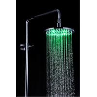 Wholesale Bathroom Rain Showers Heads Led Lighted Stainless Steel Φ200 x 9mm from china suppliers