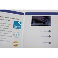 Wholesale 480*272mm Pixel size lcd video business cards , customized brochure size from china suppliers