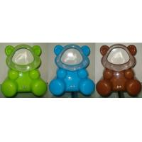 Wholesale Orange / Green bear shaped Portable usb table fan without blade for promotion gift from china suppliers