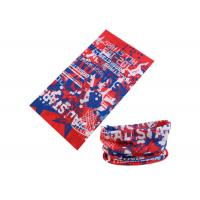 Wholesale UV Buff Headwear Red Blue Color With Size 25*50 CM Polyester Scarf from china suppliers