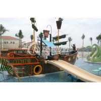 Wholesale Amusement Park Equipment Comercial Playground Funny Pirate Ship , Colorful or Customized from china suppliers
