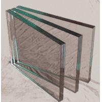 Wholesale 6mm Double Laminated Tempered Glass Blue / Bronze For Window , Prevent Ultraviolet from china suppliers