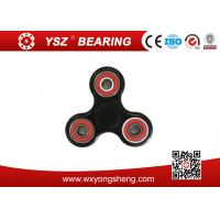 Wholesale High Speed Red / Blue / Yellow Hand Spinner Fidget Toy With 608 8X22X7 Bearings from china suppliers