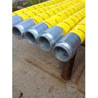 Buy cheap Durable Concrete End Hose 15mm-16mm Thickness , 85 Bar Working Pressure from wholesalers