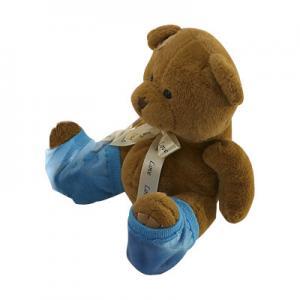 Wholesale Blue Moisturizing Gel Socks / Gel Filled Socks 9x12 cm Heel Gel Spa Socks from china suppliers