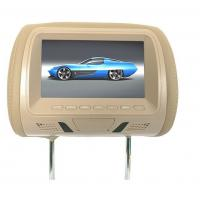 Buy cheap cheap 7 inch and 9 inch car headrest dvd player with sd, usb, aux, game function from wholesalers