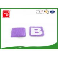 Wholesale Small hook and loop Alphabet Letters Silk printing AB letters for kid' s formative education from china suppliers