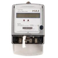 Buy cheap Power Consumption Single Phase Energy Meter with six tariff rate , customized from wholesalers