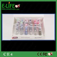 Wholesale High Quality Wholes 24 pcs/display box CE4 Clearomizer Colorful atomizer CE4 eGo CE4 from china suppliers