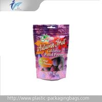 Wholesale 250G matt finishied zip lock Stand Up Pouches , doypack packaging with tear notch drip from china suppliers