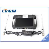 Wholesale Video Audio COFDM Receiver , handheld receiver -106dbm Receiving Sensitivity from china suppliers