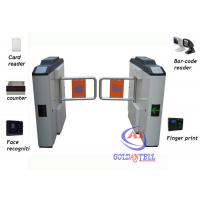 Buy cheap Smart Swing barrier gate  with RFID card / fingerprint for building Management from wholesalers