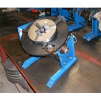 Wholesale Pipe Round Small Welding Table Hand Wheel With Foot Pedal 300kg 600mm from china suppliers