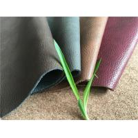 Buy cheap Man-made Leather Upholstery fabric with various colors and textures with 25 meters length each roll from wholesalers