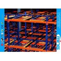Wholesale Customized Cold Rolled Steel Pallet Storage Racks Push Back Racking from china suppliers