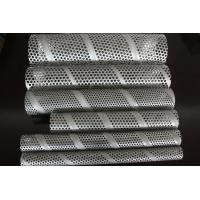 Wholesale Spiral welded round Hole Perforated Metal Tube Cloth For Noise Heat Insulation from china suppliers
