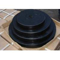 Wholesale 2.5kg 5kg 7.5kg 10kg 15kg weight plate dia28mm  black Rubber coated round  barbell plate from china suppliers