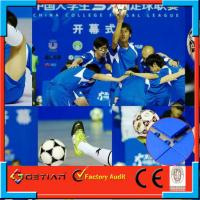 Wholesale Portable Indoor Soccer Flooring Flat Pattern , Anti Uv For Sport Court from china suppliers
