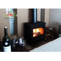 Wholesale Hot-selling copper black  wood cast iron heating fireplace insert from china suppliers