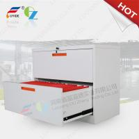Wholesale OZ Laterial filing cabinet white color for office/goverment/school/college,KD structure from china suppliers