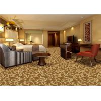 Buy cheap Wall To Wall Commercial Floor Carpet Wilton Machine Woven Wool / Polyester Blend 4M Width from wholesalers