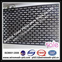 Wholesale PVC coated oval hole,staggered type perforated metal sheet,metal wire mesh from china suppliers