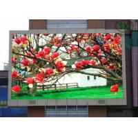 Wholesale Waterproof Full Color Outdoor LED Screen 6500K - 9500K High Brightness, Led signs from china suppliers