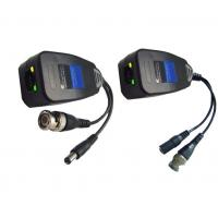 Wholesale CCTV Video Audio Power Balun Over Cat5 , UTP and RJ45 Video Balun from china suppliers