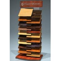 Buy cheap Custom Four sided Wood POP and MDF Display Stands unit with hangers for display clothing from wholesalers