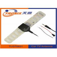Wholesale Digital FM Automotive TV Antenna Aerial For Car DVD Video TV SMA + FM Radio Booster from china suppliers
